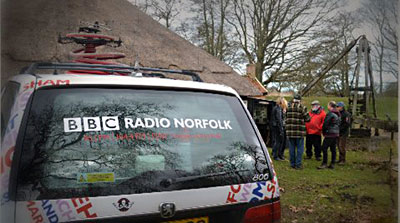 Radio Norfolk radio car 1st March 2015