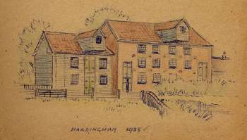 1938 drawing by Pippa Miller