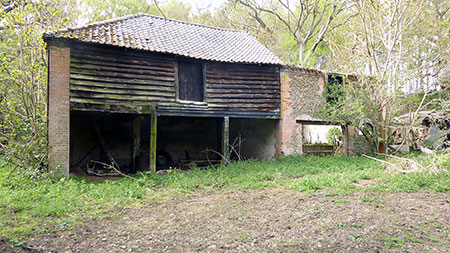 Mill bakery and outbuildings 2nd May 2015