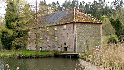 Mill rear 2nd May 2015