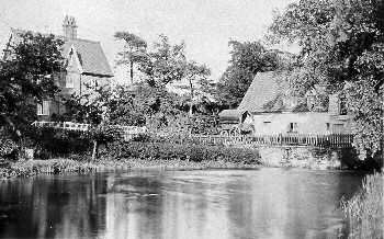 Mill and mill house c.1900