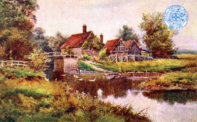 Coltishall Lock c.1907