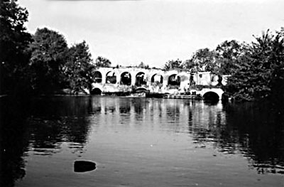 Mill remains - c.1964