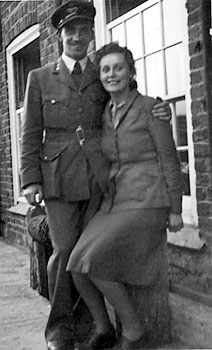 Dr. & Mrs. Gerald 'Gerry' Clayton - 1942