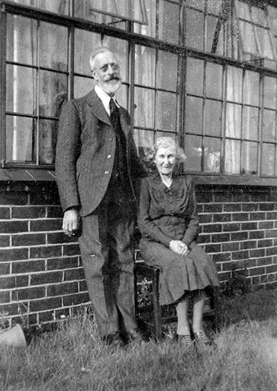 Mr. & Mrs. Ernest Edward Smith - 1943