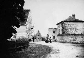 Mill and house in 1901