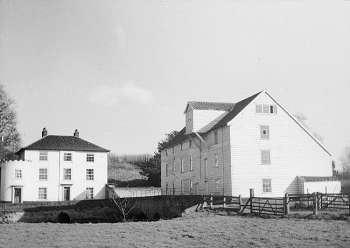 Mill and house in the 1930s