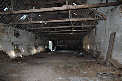 Interior of the brewery 20th September 2003