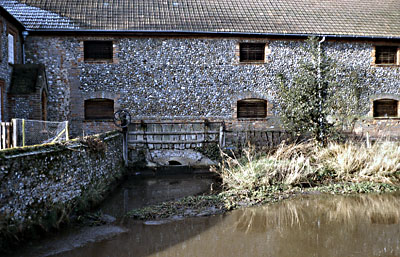 Wheelrace sluice 4th February 1983