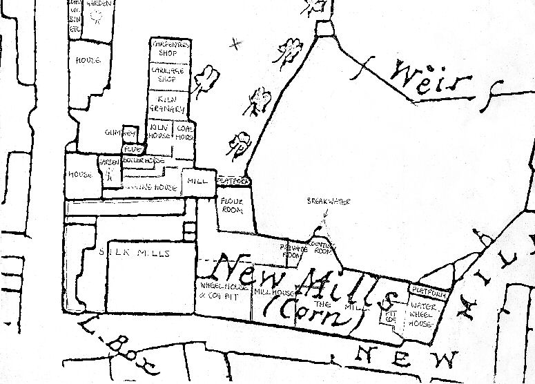 Section of an 1886 Ordnance Survey map