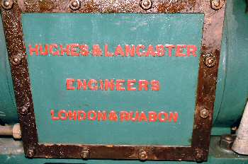 Machinery manufacturer's plate 30th June 2003