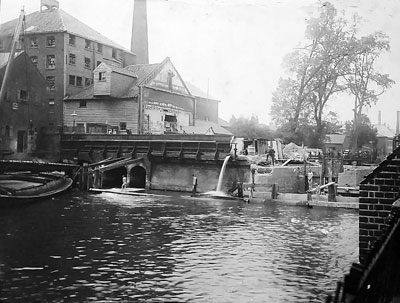 Mill being dismantled 2nd July 1897