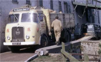 RJ Seaman's lorry April 1968