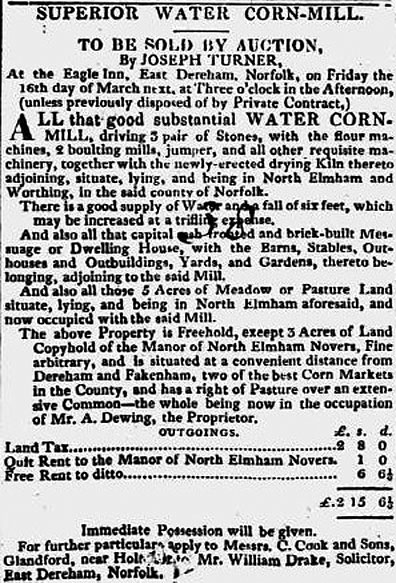 Norwich & Bury Post - 21st February 1827
