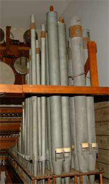 Part of the organ