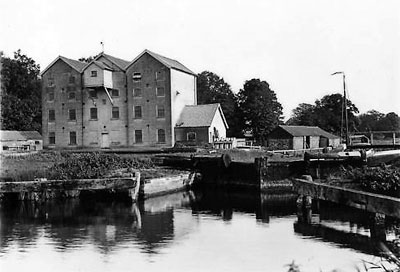 Oxnead lock c.1910 before the flood