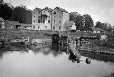 Oxnead lock in 1912 after the flood