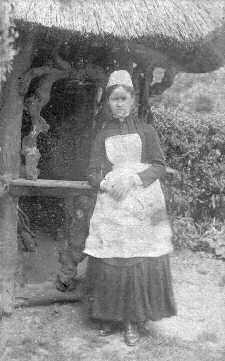 Blanche Handcock aged 16 in 1888