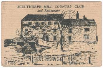 Sculthorpe Country Club membership card