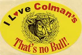 Colmasn's sticker