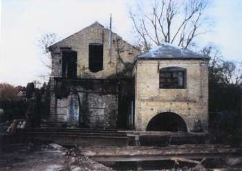 Lying derelict prior to conversion in 2000