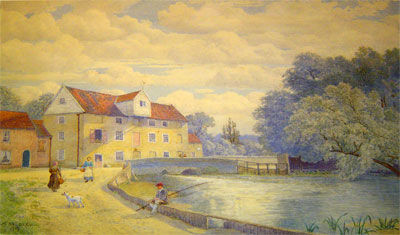 1919 painting by S. H. Baldrey