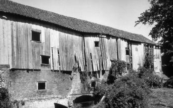 Rear of the mill 1953
