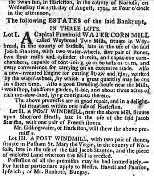 Norfolk Chronicle - 16th August 1794