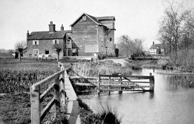 Mill and ford c.1910